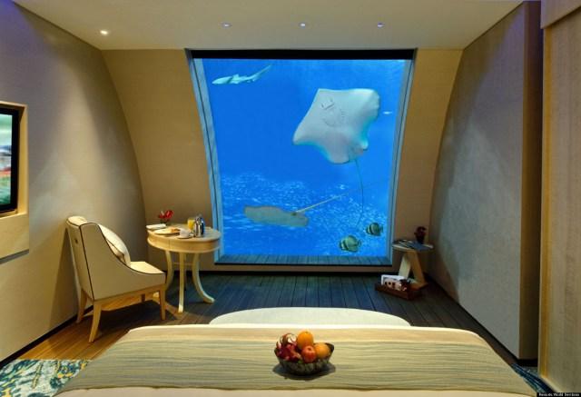 Singapore Aquarium Hotel: New Sentosa Suites With Aquarium Windows