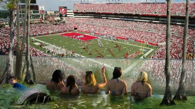 Bucs Stadium Now Allowing Fans To Watch Games From Special Swamp Deck