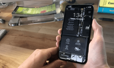 Make Your iPhone X 'See-Through' With These Wallpapers