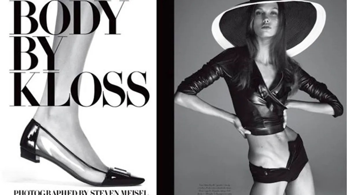 Snazzy Vogue Italia Defends Those Weird Karlie Kloss S Karlie Kloss Bodybuilding nice food Karlie Kloss Body