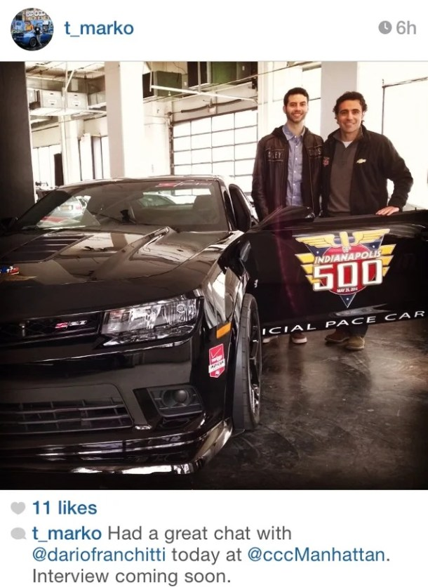 That Time I Met Dario Franchitti And Didn't Even Realize