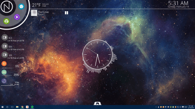 The NXT Nebula Desktop | Lifehacker Australia