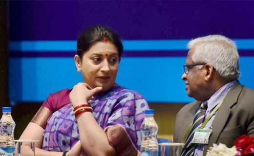 Smriti Irani Spots Camera Recording Her While Changing Clothes in Goa, FIR Filed