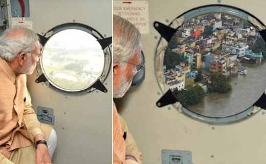 PM Modi's Chennai Visit Clicked on Photoshop, Leaves Twitter Tittering