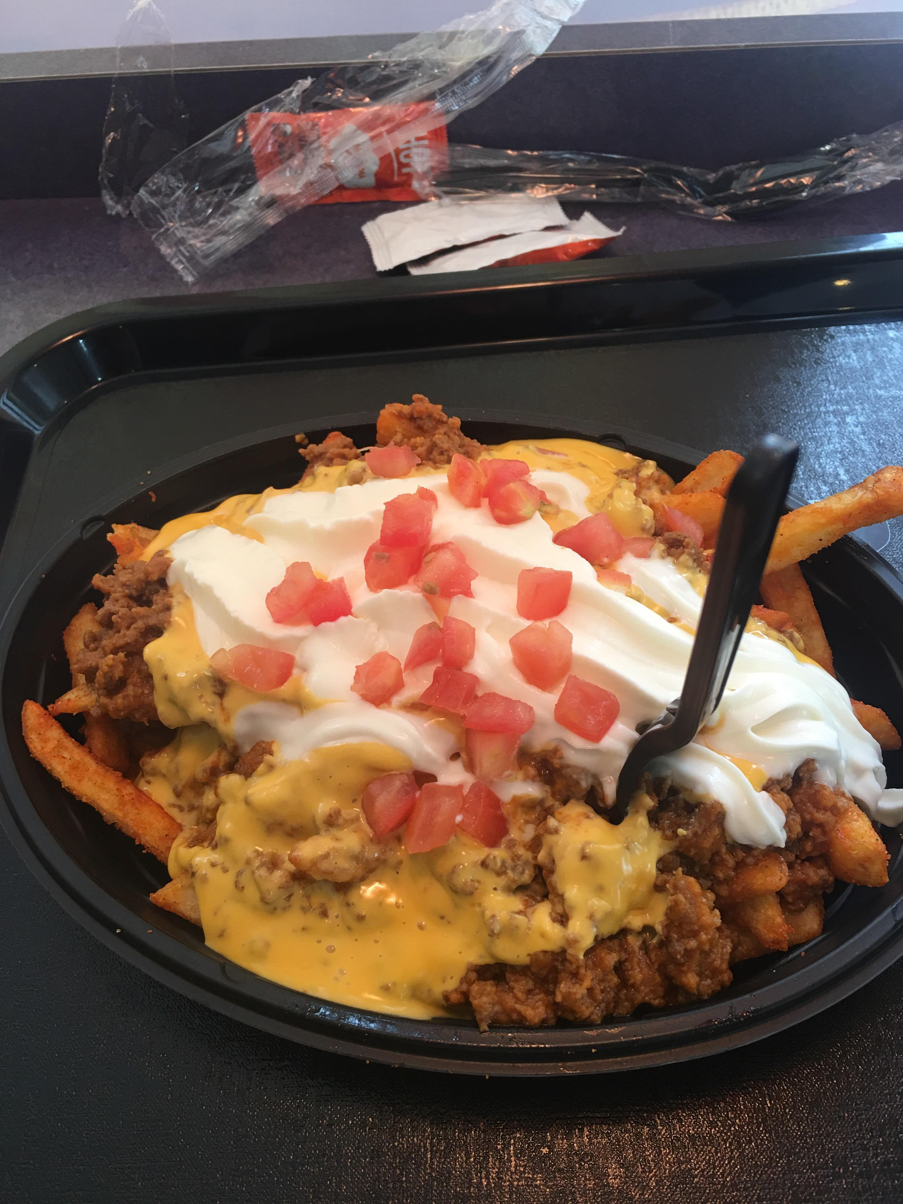 Sweet Ordered A Nacho Fries Bell After Waiting Minutes I Found Outy Lost My Y Were Very About Getting It Out Quick Andloaded It Up Ordered A Nacho Fries Bell After Waiting Minutes I Found nice food Nacho Fries Bellgrande