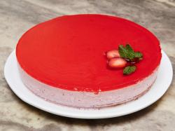 Smart Strawberry Mousse Cakeimage Strawberry Mousse Cake Food Strawberry Mousse Cake Paul Hollywood Strawberry Mousse Cake Mary Berry