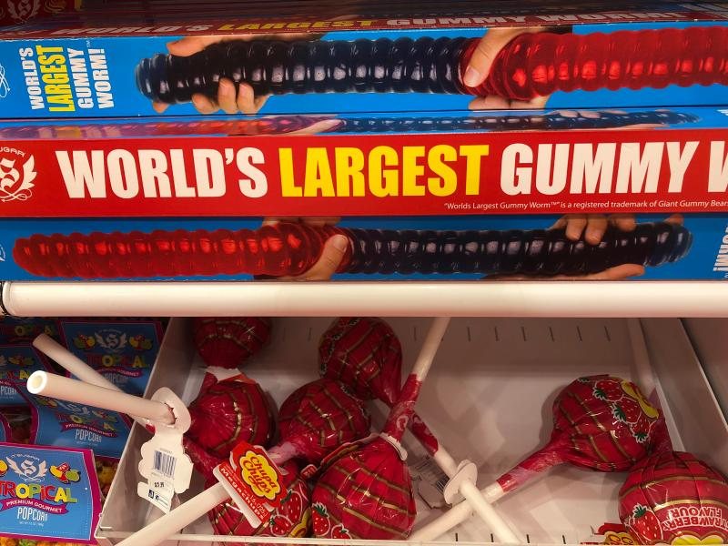 Large Of Giant Gummy Worm