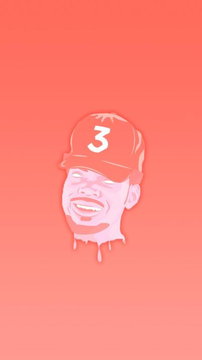 Chance iPhone Wallpaper. Made with desogn by u/ThatGuyWithCoolHair : ChanceTheRapper