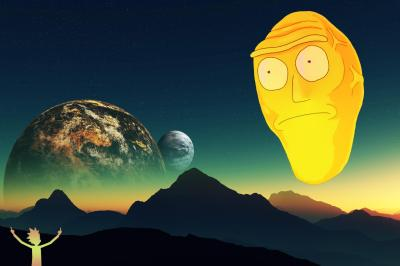 In addition to my phone background I made a 2736x1824 desktop wallpaper : rickandmorty