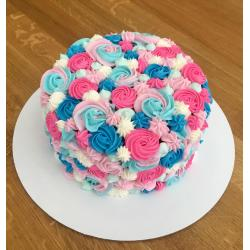 Small Crop Of Gender Reveal Cake Ideas
