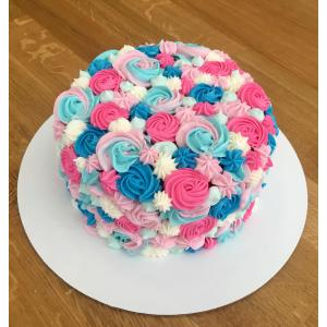 Pretentious Vanilla Gender Reveal Cake Chocolate Cake Vanilla Baking Gender Reveal Chocolate Cake Ideas Easy Gender Reveal Cake Ideas Gender Reveal Cake Chocolate Cake