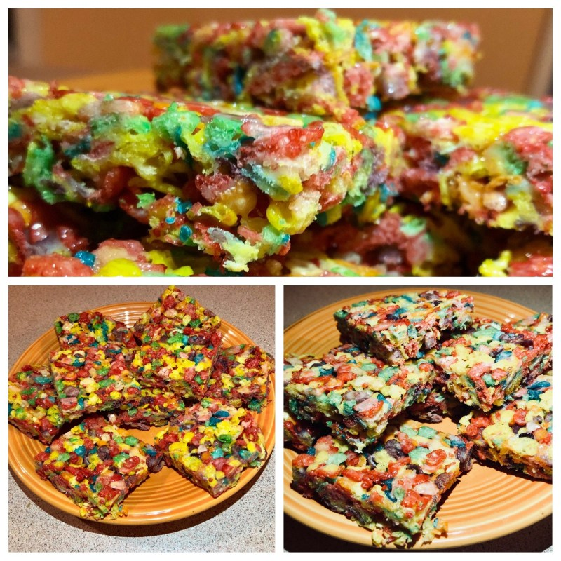 Large Of Fruity Pebble Treats