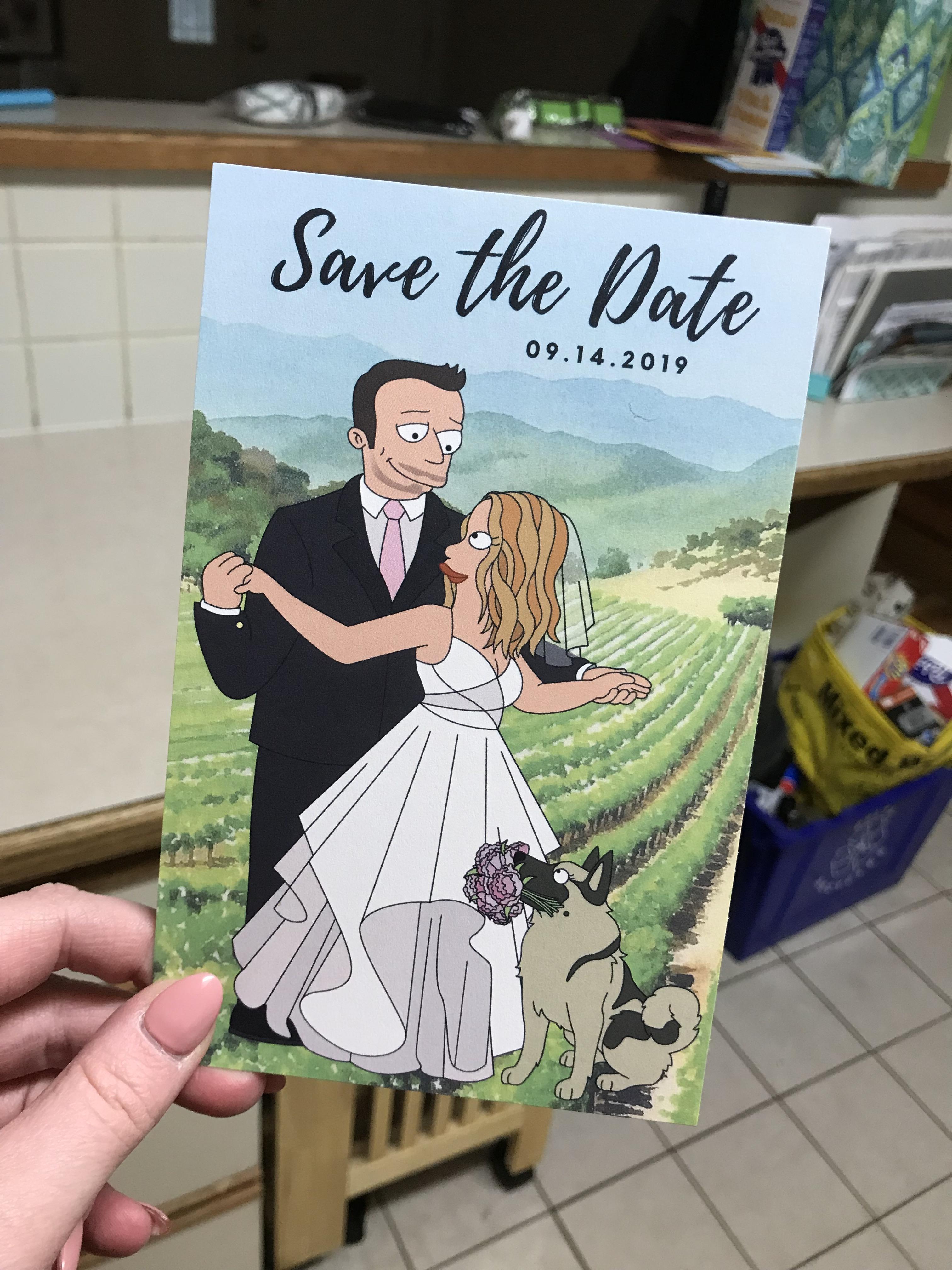 Fullsize Of Vistaprint Save The Date
