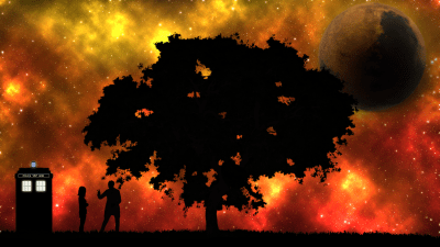 A Doctor Who wallpaper I threw together while bored (1920x1080) : doctorwho