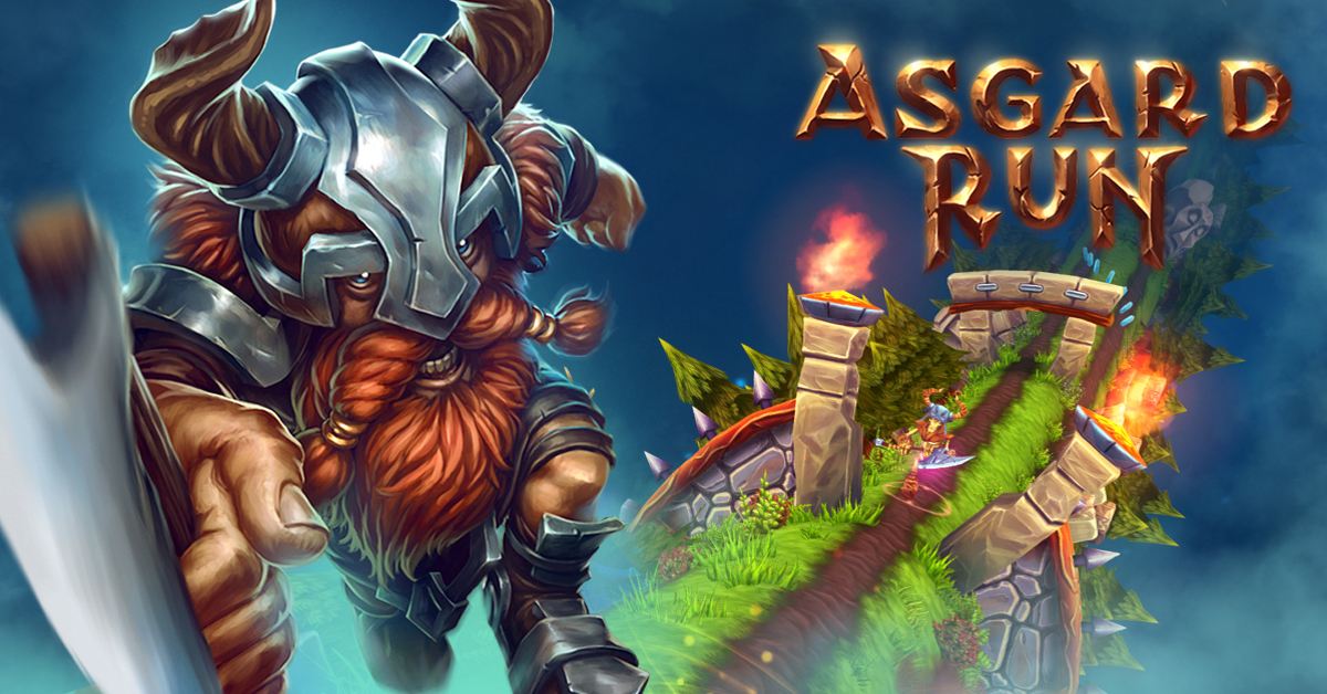 Asgard Run gameplay mobile games