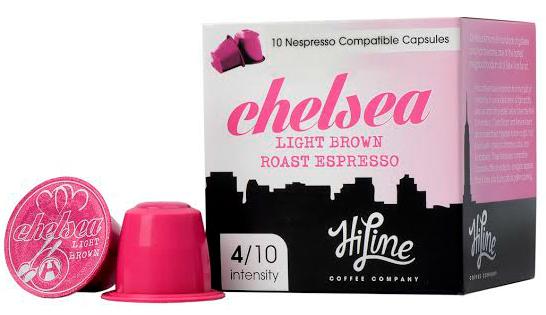 Chelsea Nespresso compatible espresso pods
