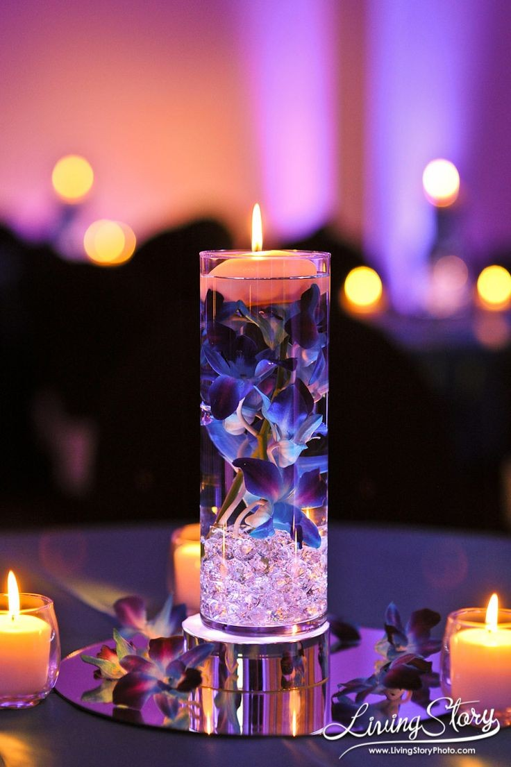 25 floating flowers and candles centerpieces wedding centerpiece lovely floating new year wedding centerpiece