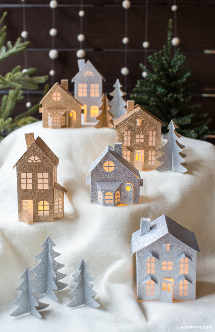 Fullsize Of Paper Christmas Decorations