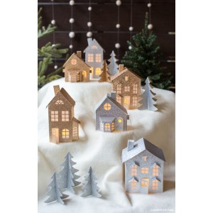 Exceptional Cardboard Diy Decorations Shelterness Paper Decorations Australia Paper Decorations To Print Paper Village Paper