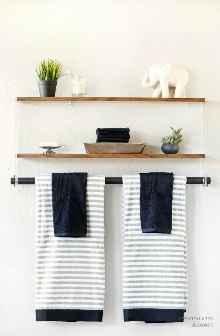 Fullsize Of Wall Shelf Bathroom