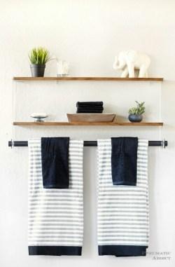 Small Of Wall Shelf Bathroom