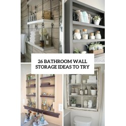 Gallant Luxury Style Luxury Se Eight Storage Ideas Will Help Organize Space You Do Havefor A Few Bathroom Wall Storage Ideas Us Bathroom Shelving Solutions bathroom Bathroom Shelving Solutions