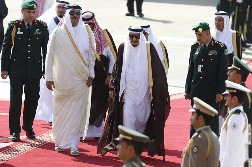 Suudi Arabistan'dan buzları eriten Katar açıklaması
