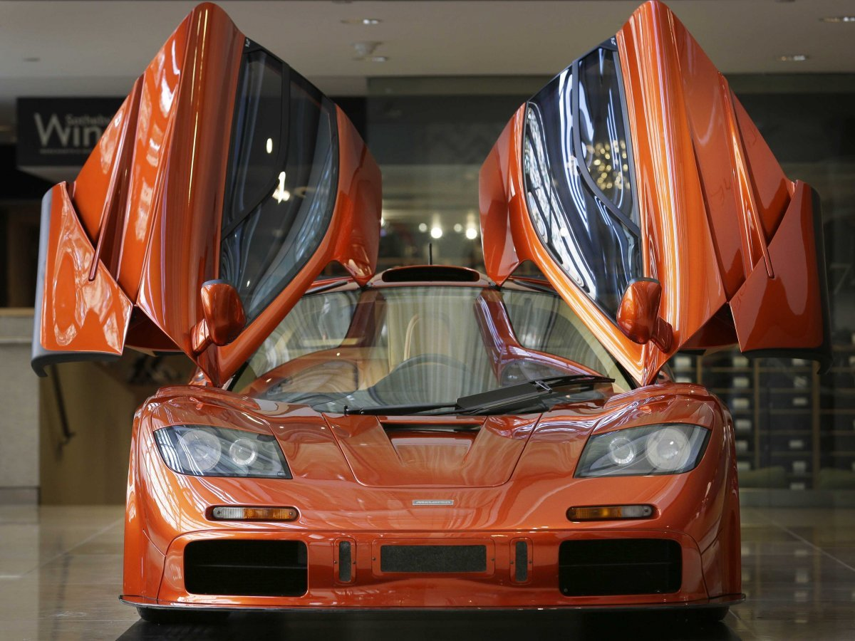 McLaren'ın efsane modeli F1