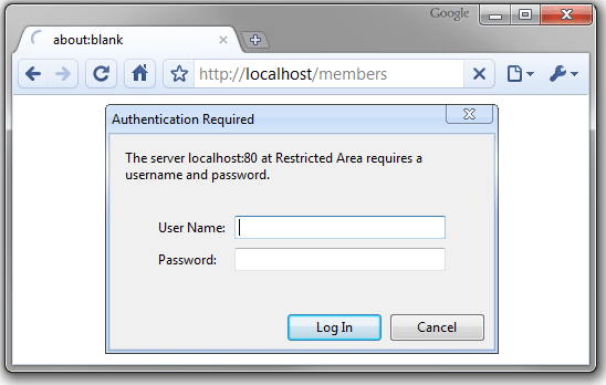 Basic access authentication