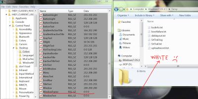 Unable to change Windows Explorer background color - WINDOWS 7 - Super User