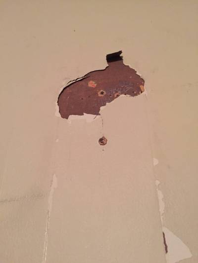 drywall - How to fix wall with paint and wallpaper? - Home Improvement Stack Exchange