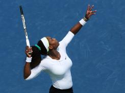 At 5-9, Serena Williams is shorter than many big servers. But she more than makes up for it with her explosive leg strength, which is the source of her 120-mph-plus first-serve power.