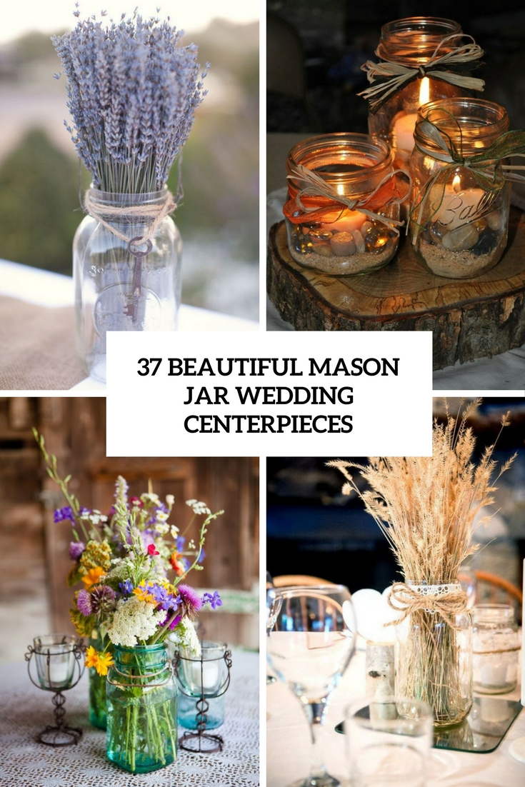 Astounding Ribbon Mason Jar Centerpieces S Mason Jar Wedding Centerpieces Cover Mason Jar Wedding Centerpieces Weddingomania Mason Jar Centerpieces inspiration Mason Jar Centerpieces