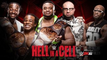 WWE Tag Team Champions The New Day vs. The Dudley Boyz