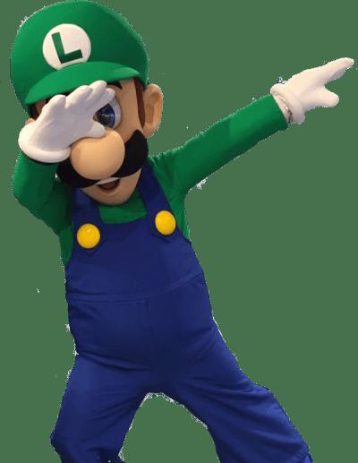 Transparent Template | Luigi Dab | Know Your Meme