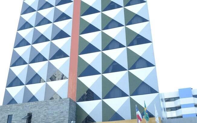 Fachada do prédio Connect Smart Hotel, em Salvador (BA). Um dos bens de réus da Operação Lava Jato avaliados em R$ 8 milhões que vai a leilão.