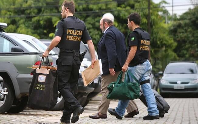 Presidente da construtora UTC, Ricardo Pessoa, é preso pela PF em 14 de novembro de 2014