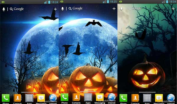 Free Halloween Android Live Wallpapers - [Animated]