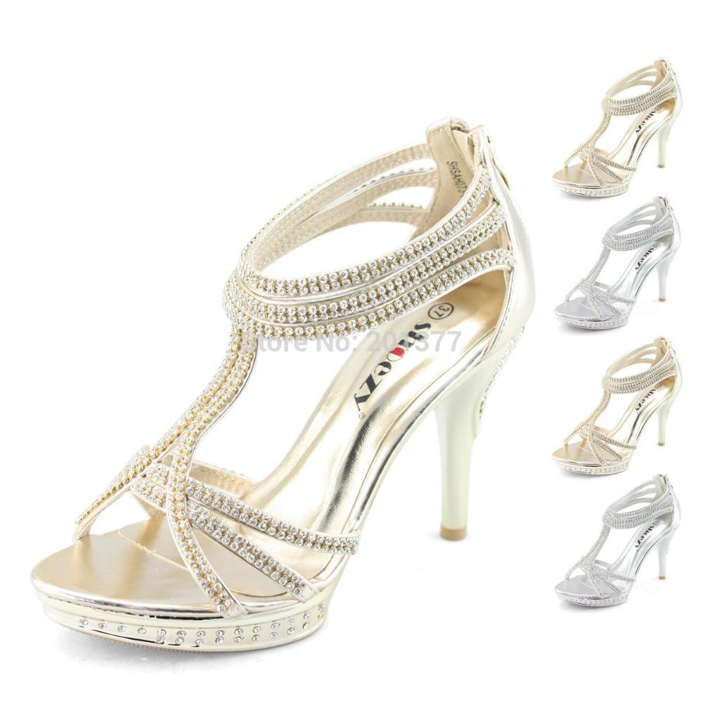 karen millen silver heels for wedding Crystal encrusted sandal Silver wedding EndoraJewellery Custom Swarovski crystal and pearl