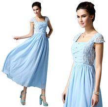 Vestidos de guipir Aliexpress de tecido liso