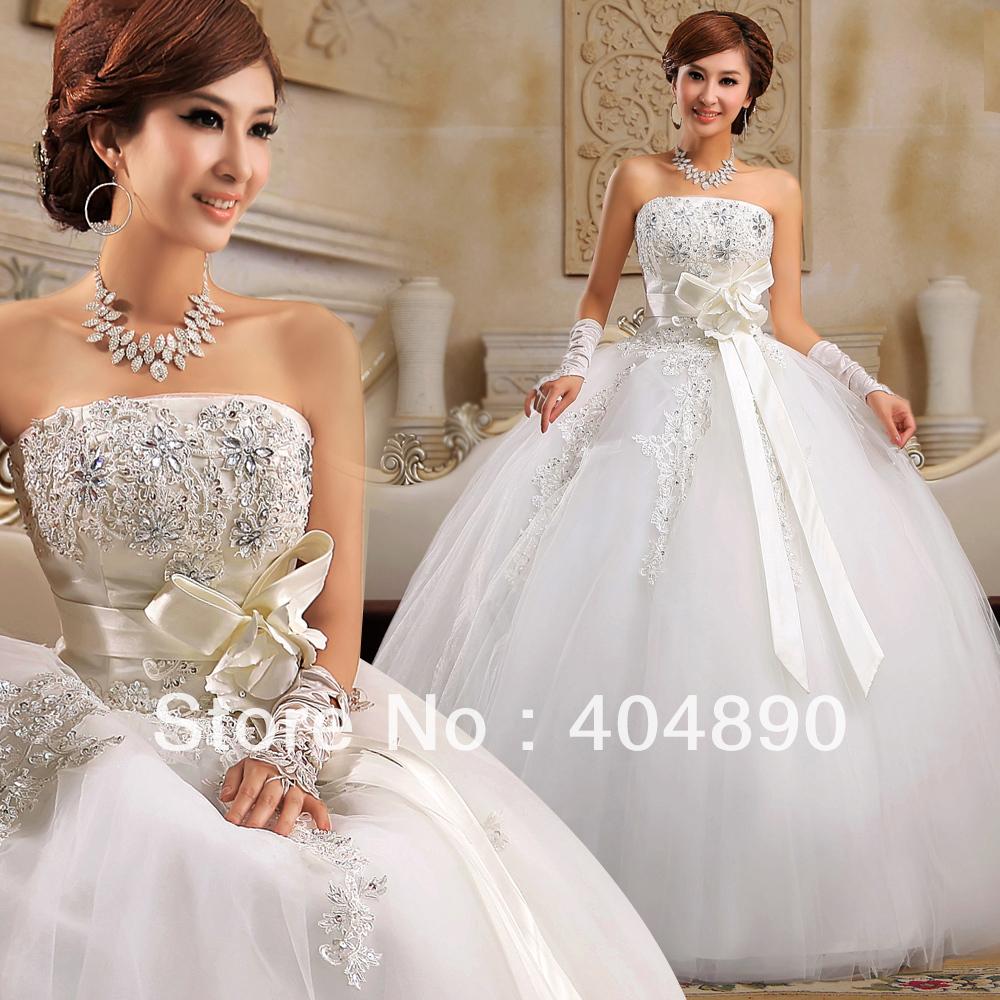 wedding dresses au wedding dress online A Line Vintage Long Wedding Dress HSNAL