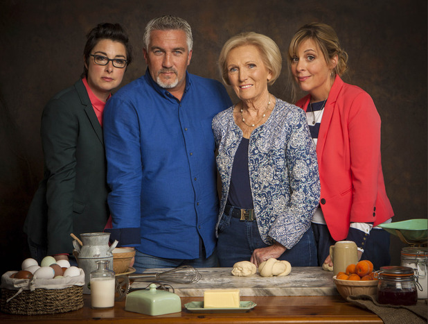The Great British Bake Off 2015: Sue Perkins, Paul Hollywood, Mary Berry, Mel Giedroyc