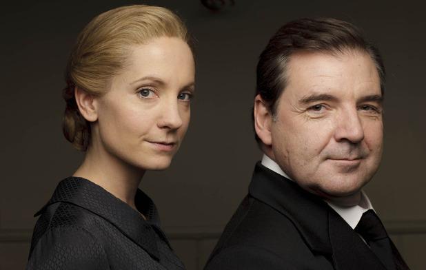 Joanne Froggatt & Brendan Coyle in Downton Abbey series 6 promo