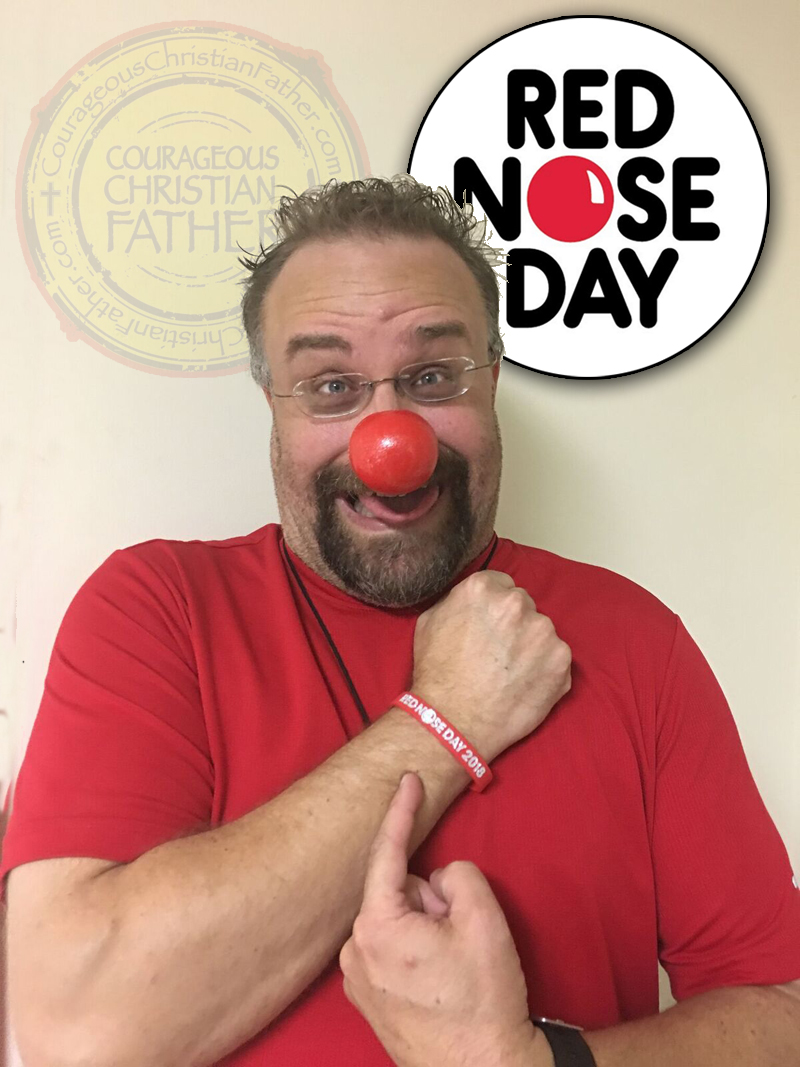 Red Nose Day (To End Child Poverty)   Courageous Christian ...