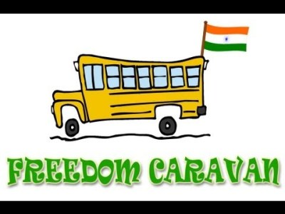 Freedom Caravan 2013: Why is India Poor?