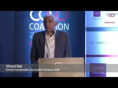 Vinod Rai | Coalition against corruption
