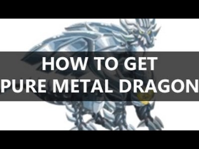 How to Get PURE METAL Dragon in Dragon City - YouTube