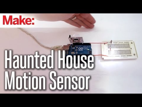 DIY Hacks & How To's:  Automate Your Haunted House With a Motion Sensor