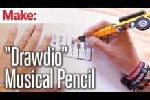 Turn Drawings Into Sound With the Drawdio Musical Pencil