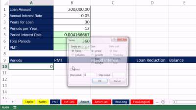 Highline Excel 2013 Class Video 50: Financial Functions: PMT, RATE, NPER and FV 12 Examples ...